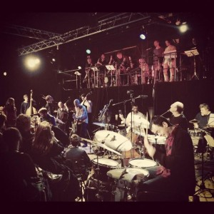 Fire! Orchestra på Fylkingen.