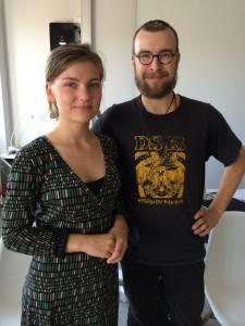 Madeleine Jonsson Gille och Filip Correia de Melo.