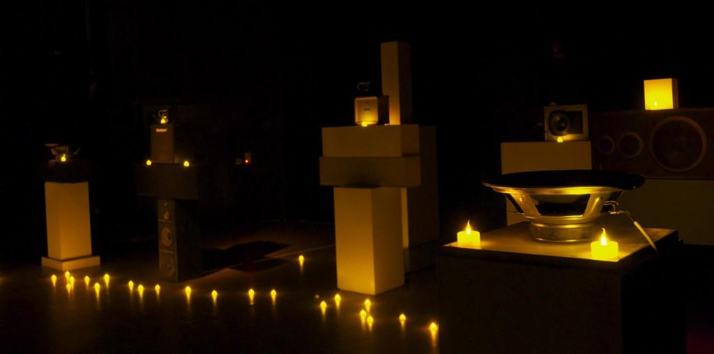 Brian Eno: ljudinstallation på Fylkingen. Foto: Phil Arnold