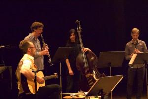David Stackenäs med ensemble. Foto: Sven Rånlund