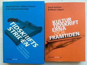 Två nya böcker om kulturtidskrifterna.