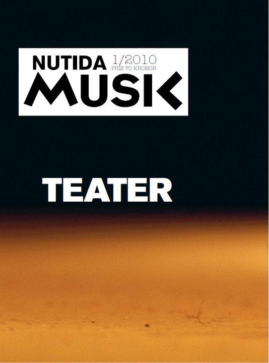 Nytt nummer om musik/teater ute!