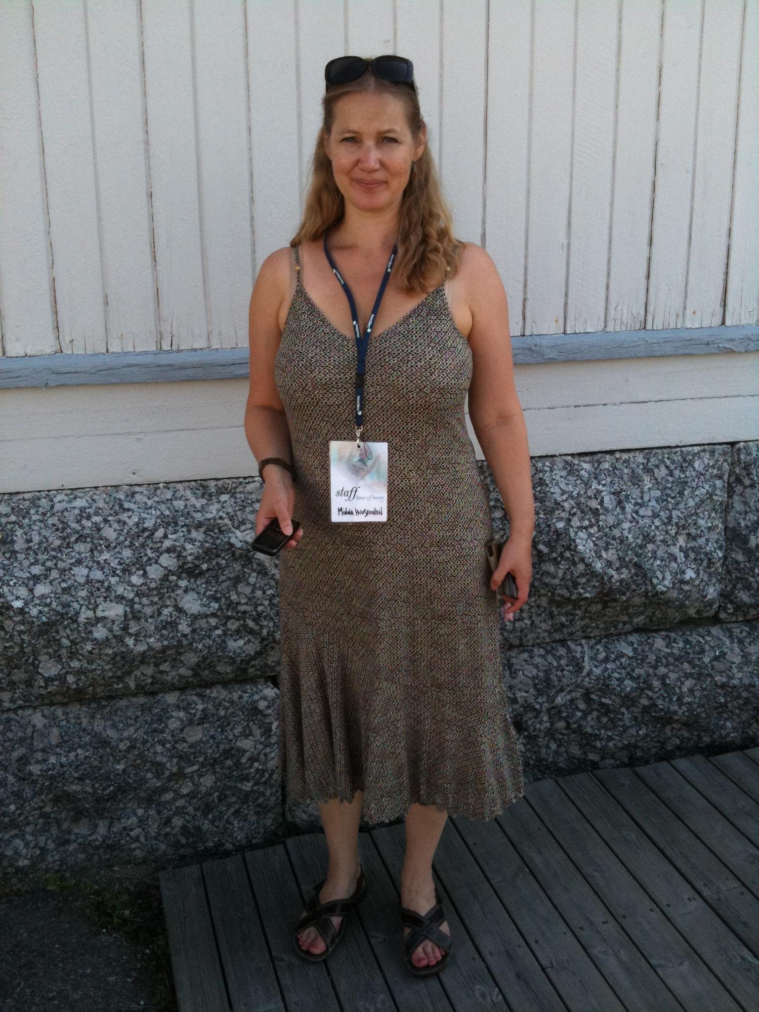 Ny musik i det finska sjöriket – Minna Huuskonen om Time of Music i Viitasaari