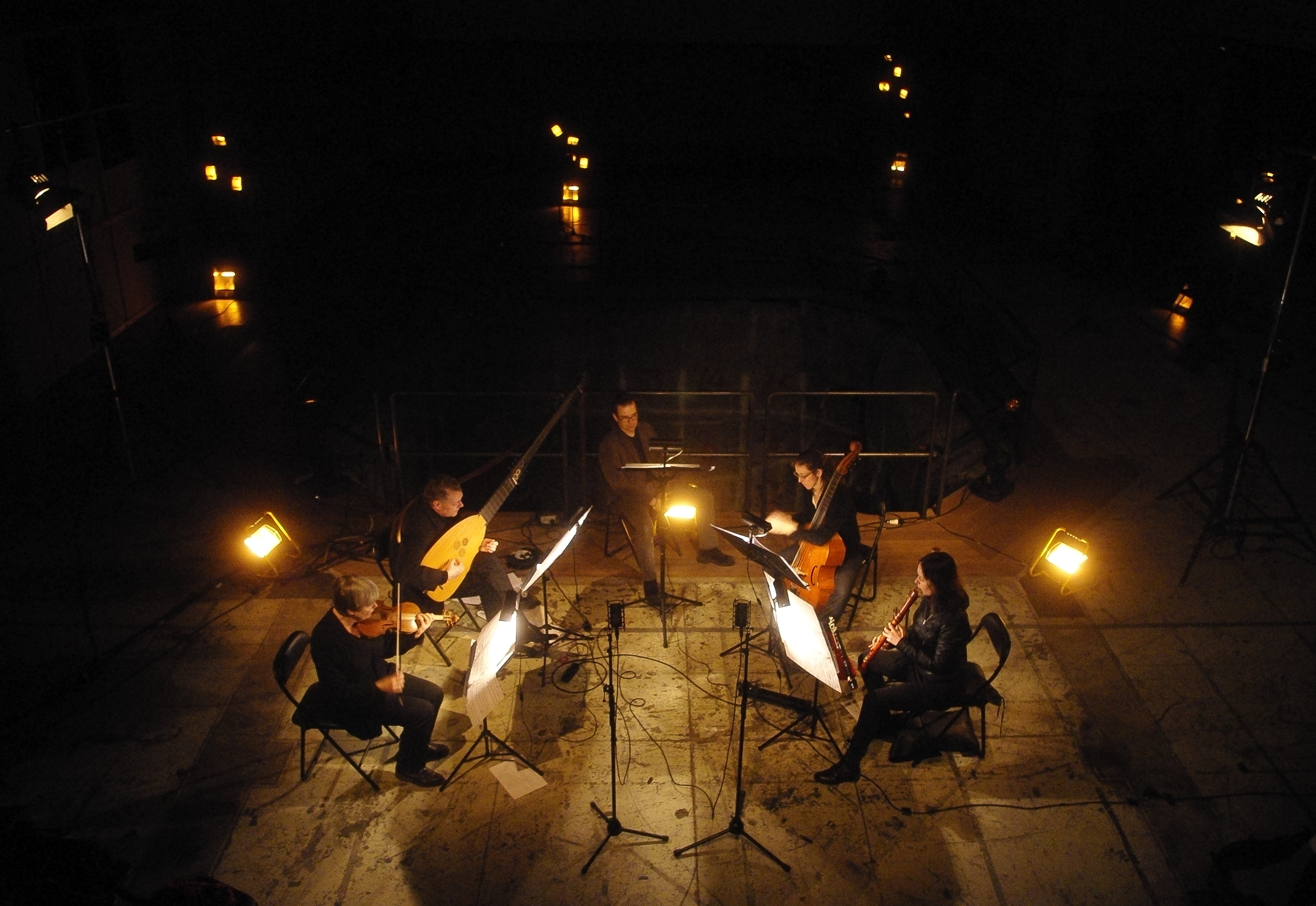 Ensemble Lipparella, Reaktorhallen. Foto: Simon Söderberg