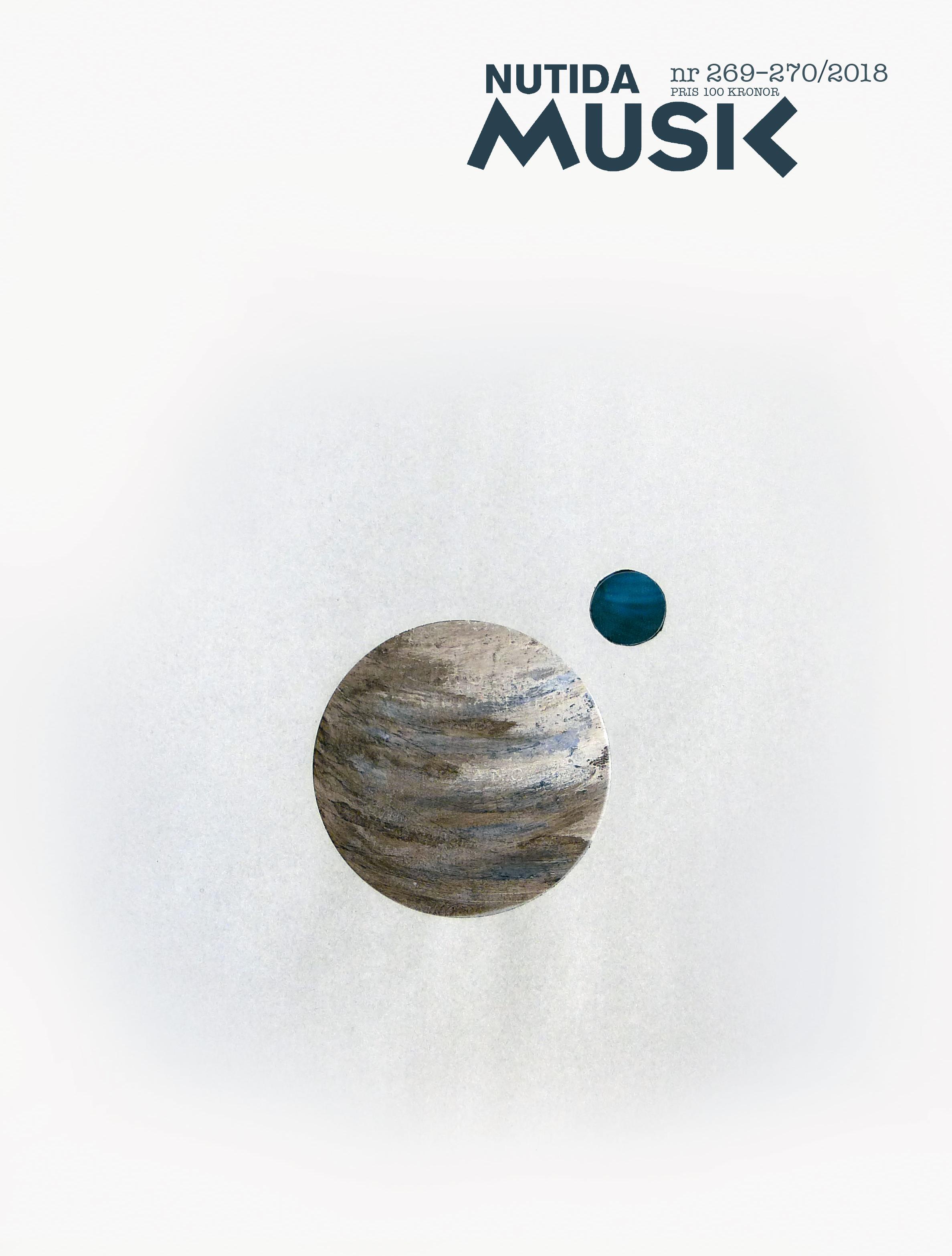 Januari 2018: Nutida musik nr 269–270