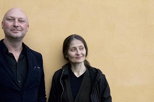 Magnus Bunnskog och Susanne Skog, redaktörer på Nutida Musik. ©Marcus Wrangö
